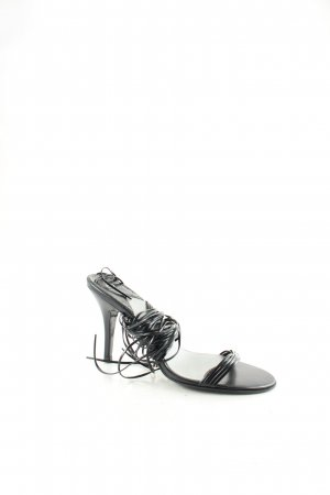 Fornarina High-Heeled Sandals black classic style