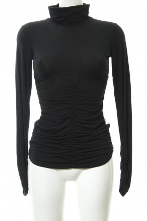 Fornarina Slip-over Blouse black extravagant style