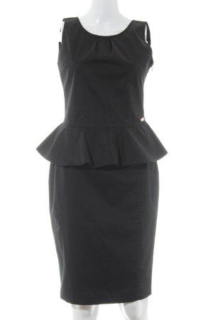 Fornarina Peplum Dress black elegant