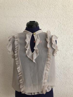 Fornarina Shirt mit Rüschen