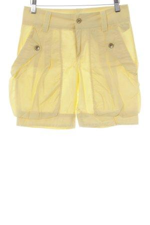 Fornarina Shorts gelb Casual-Look
