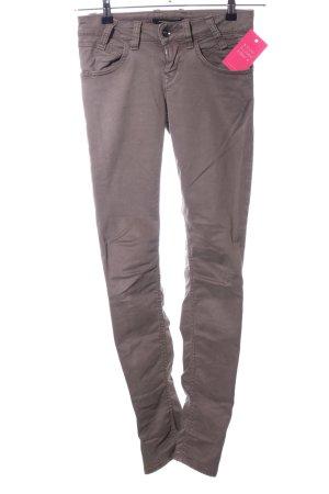 Fornarina Skinny Jeans braun Casual-Look