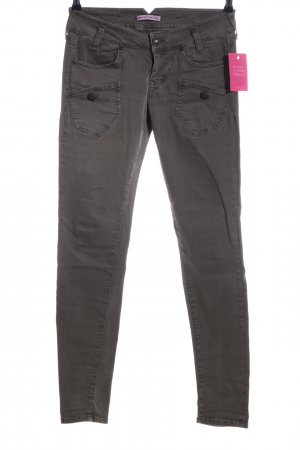 Fornarina Skinny Jeans hellgrau Casual-Look