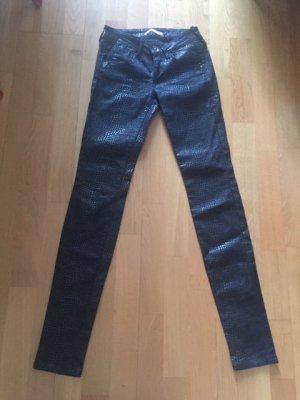 Fornarina Pantalone cinque tasche nero Cotone