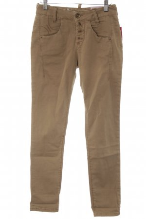 Fornarina Skinny Jeans camel Casual-Look