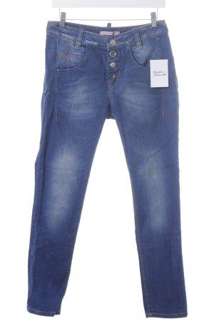 Fornarina Skinny Jeans dunkelblau Casual-Look