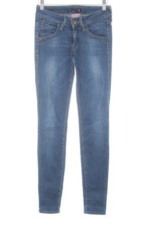 Fornarina Skinny Jeans dunkelblau Jeans-Optik