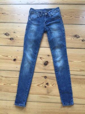 Fornarina Skinny Jeans Eva Used Wash 27