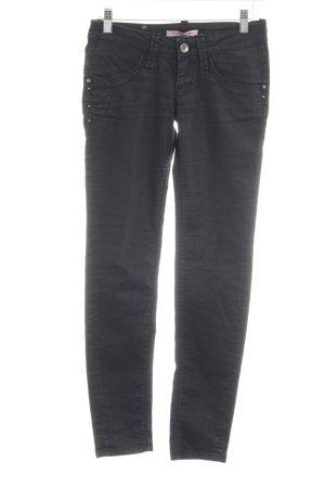Fornarina Skinny Jeans schwarz Casual-Look