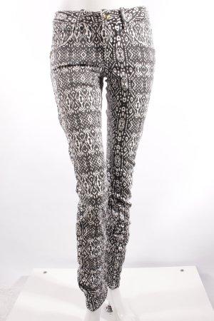 Fornarina Skinny Jeans gemustert