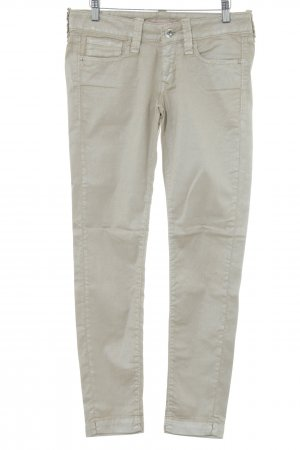 Fornarina Skinny Jeans goldfarben Business-Look