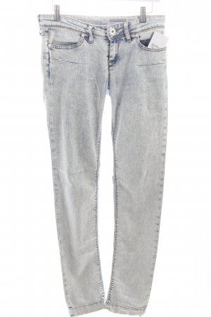 Fornarina Skinny Jeans hellblau Washed-Optik