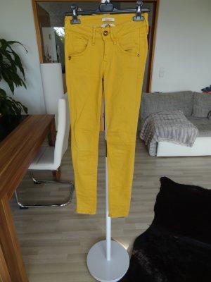 FORNARINA, Skinny Jeans, Mustard, Gr. 25, NEU!!