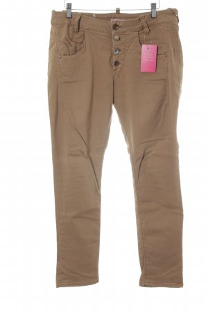Fornarina Skinny Jeans sandbraun Casual-Look