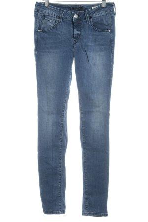 Fornarina Skinny Jeans stahlblau Casual-Look