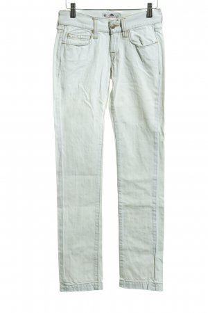 Fornarina Skinny Jeans weiß Casual-Look