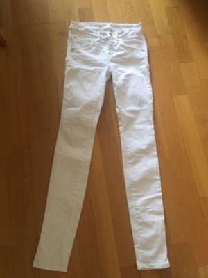Fornarina Pantalone cinque tasche bianco Cotone