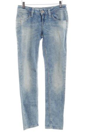 """Fornarina Slim Jeans """"Blanca Up"""" kornblumenblau"""