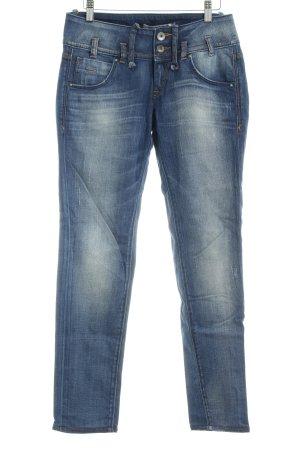 Fornarina Slim Jeans blau Beach-Look