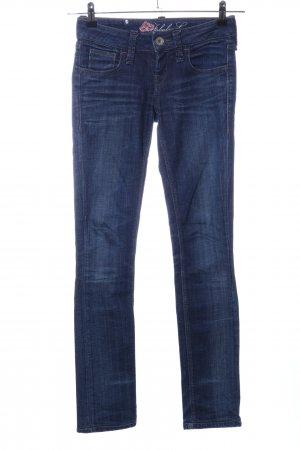 Fornarina Slim Jeans blau Casual-Look