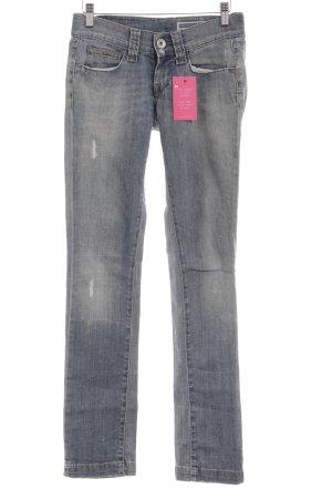 Fornarina Slim Jeans kornblumenblau Casual-Look