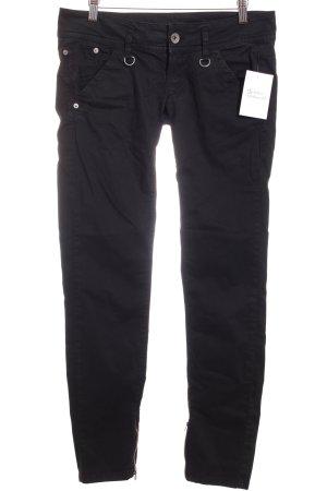 Fornarina Slim Jeans schwarz Casual-Look