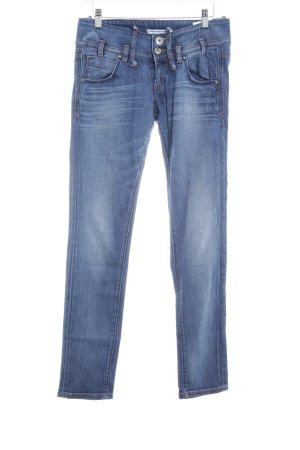 Fornarina Slim Jeans stahlblau Casual-Look