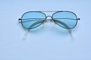 Fornarina Sonnenbrille Vintage blau 12cm breit 4 cm hoch