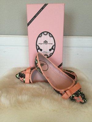 FORNARINA - Spitze, sommerlich leichte Ballerinas