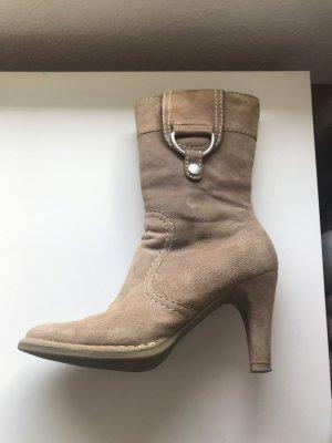 Fornarina Stiefel Größe 38 beige