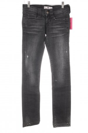 Fornarina Straight-Leg Jeans anthrazit Casual-Look