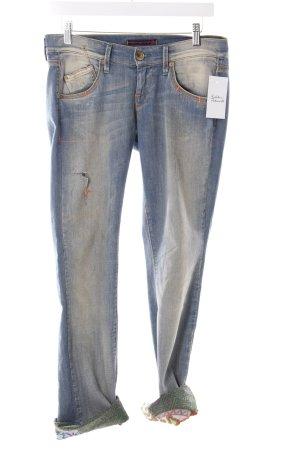 Fornarina Straight-Leg Jeans blassblau Boyfriend-Look