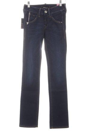 Fornarina Straight-Leg Jeans blau schlichter Stil