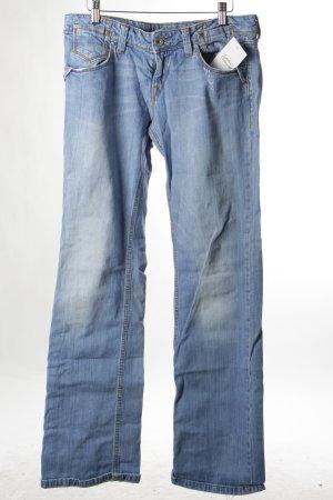 "Fornarina Straight-Leg Jeans ""Flirting"" blau"
