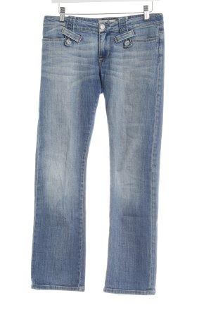Fornarina Straight-Leg Jeans graublau Casual-Look