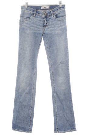 Fornarina Straight-Leg Jeans hellblau-stahlblau Casual-Look