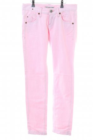 Fornarina Straight-Leg Jeans pink Casual-Look