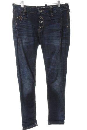 Fornarina Stretch Jeans dunkelblau Casual-Look