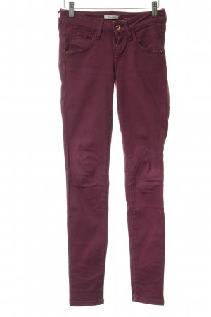 Fornarina Stretch Jeans violett Casual-Look