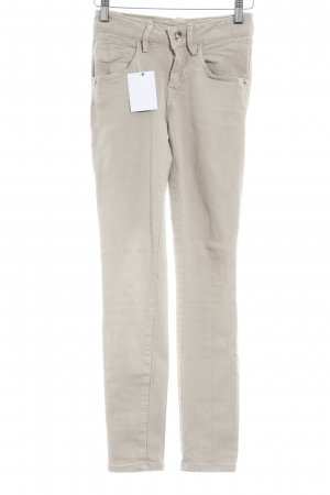 Fornarina Stretchhose beige Casual-Look