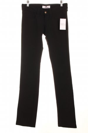 Fornarina Stretch Trousers black simple style