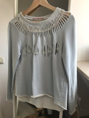 Fornarina Sweater in Destroyed Optik