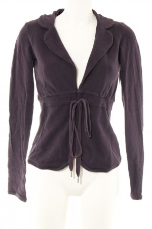 Fornarina Sweatjacke lila Business-Look
