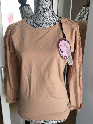 Fornarina Sweatshirt mit Spitze !NEU! + eine Beauty-Überraschung*