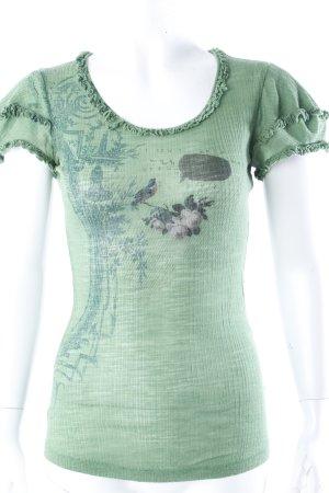 Fornarina T-Shirt grün
