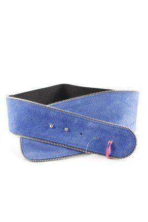 Fornarina Tailleriem blauw-zwart casual uitstraling