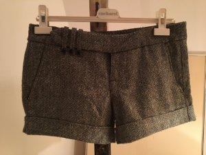 Fornarina Tweedshorts Hot Pants graumeliert Gr. 29