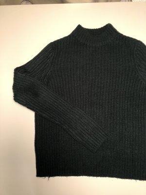 Forstgrüner Turtleneck Pullover
