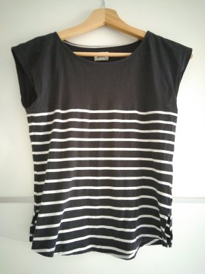 Forvert Camiseta blanco-azul oscuro
