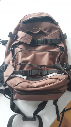 Forvert Backpack black-brown